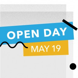 Open Day 19 May